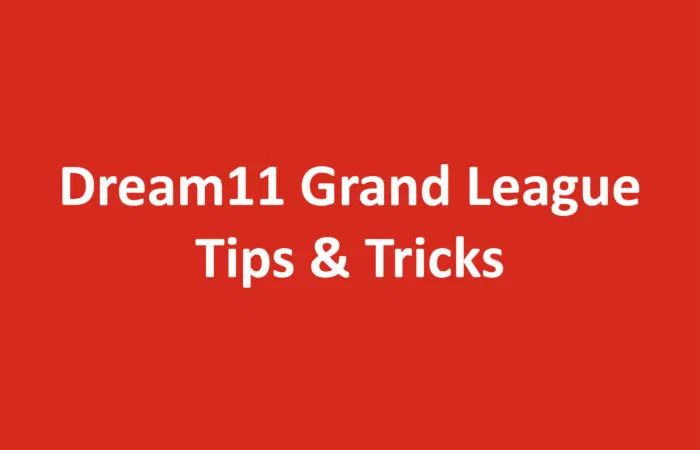 Best strategy to make huge money in Dream11 by playing GL
