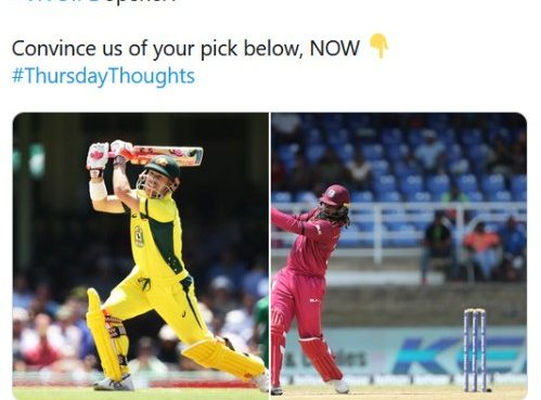 SRH offended the Kings XI Punjab over Twitter